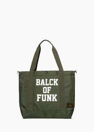 TMOC/BALCK OF FUNK TOTE B#MK18002