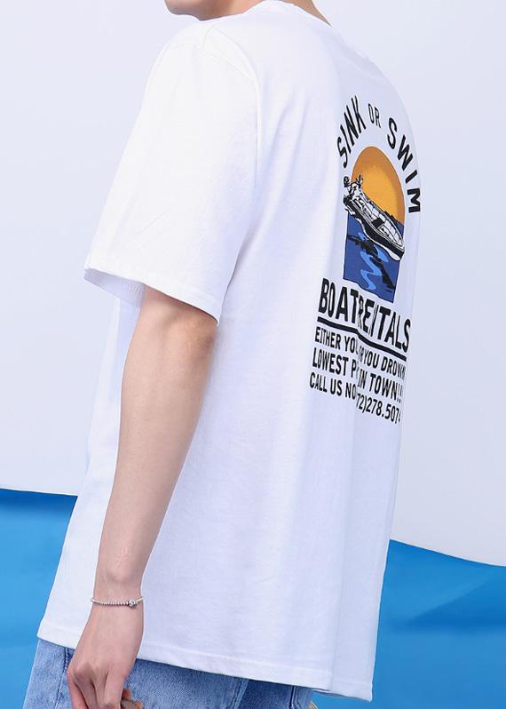 보트 라이프 티셔츠 (3color) T#2205